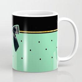 Black Tie Affair: Teal Coffee Mug