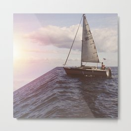 Hurry up, We're dreaming Metal Print