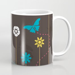 Butterfly and a flower Coffee Mug