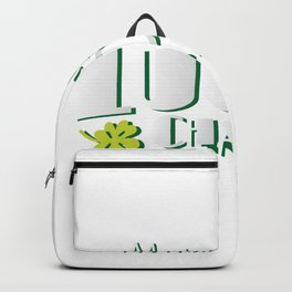 Mommy' Lucky Charm St Patricks Day Kids Backpack