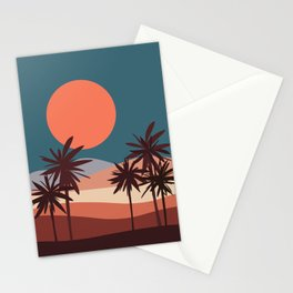 Abstract Landscape 13 Portrait Stationery Cards