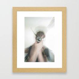 I am Ghost Framed Art Print