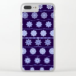 Iced Velvet 2 Clear iPhone Case