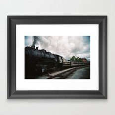Leaving Cumberland Framed Art Print