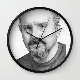 Louis CK Portrait Wall Clock