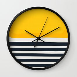 Sticks In The Sand Wall Clock