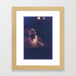 Reserved Haze Framed Art Print