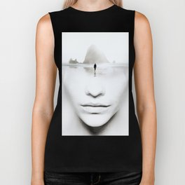 in thoughts Biker Tank