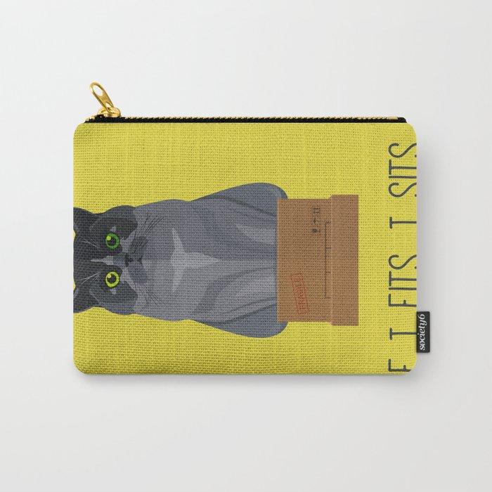 If I Fits, I Sits II Carry-All Pouch