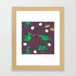 Smore Dragons Framed Art Print