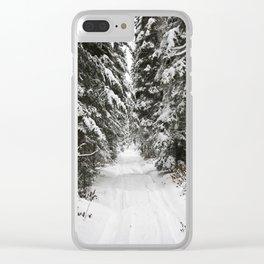 AbitibiWinter10 Clear iPhone Case