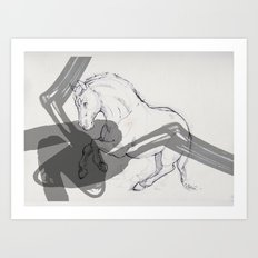 Temper Art Print