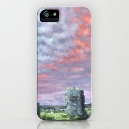 The Aneurin Bevan Monument iPhone Case