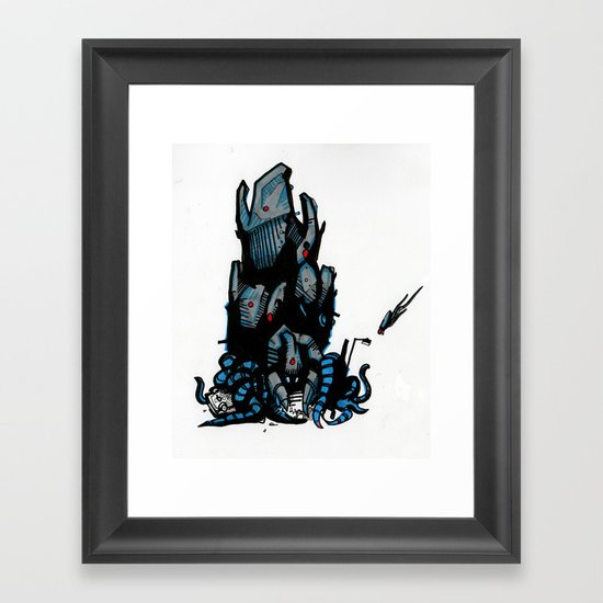 Tripod Framed Art Print