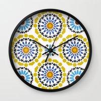 Moroccan Pattern Wall Clock