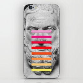 Sculpture With A Spectrum 2 iPhone Skin