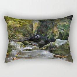 Ffos Noddun or Fairy Glen Rectangular Pillow