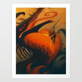 The Downfall of Passion Art Print
