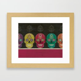 Skulls Framed Art Print
