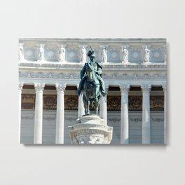 Rome: Vittorio Emanuele II - At the Altare Della Patria Metal Print
