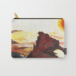 Landscape painting- The Indian - by LiliFlore Carry-All Pouch