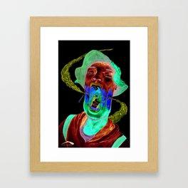 Retched Soul Framed Art Print