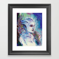 Liara Framed Art Print