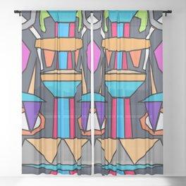 Totem IV Sheer Curtain
