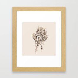 Feelings Framed Art Print