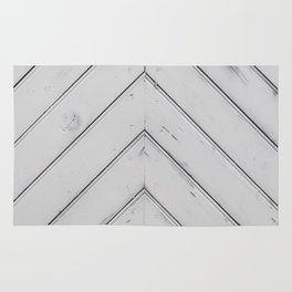Wooden pattern - arrow shape, art decor Rug