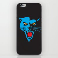 panther iPhone & iPod Skins featuring Panther by Jhonatan Medina