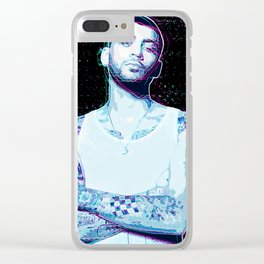 Zayn Malik 3D Effect Clear iPhone Case
