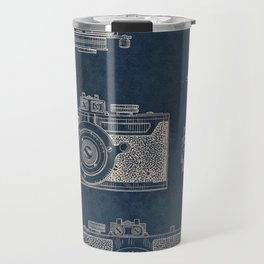 Cazin Camera patent art Travel Mug