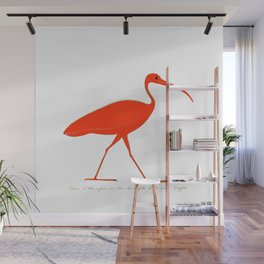 Ibis Wall Mural
