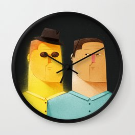 Stalked by Conscience Wall Clock
