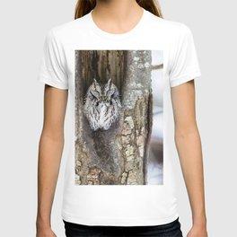Sleeping Screech owl T-shirt
