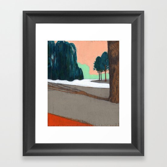 Oosterpark Framed Art Print
