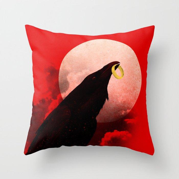 King Of Crooks Throw Pillow