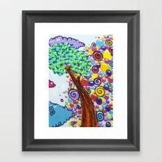 tree of love Framed Art Print