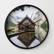 Famous cabin  Wall Clock