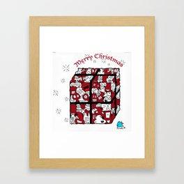 Christmas Joy Framed Art Print