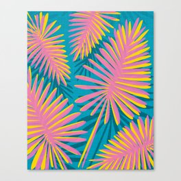 Bright Tropicals Canvas Print