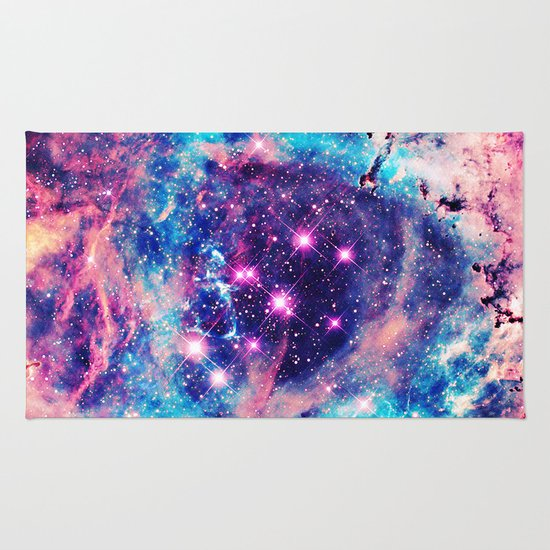 Galaxy Rug Home Decor