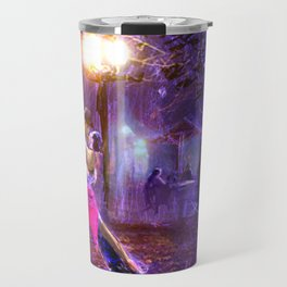 Night tango painting print Travel Mug