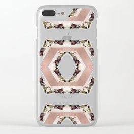 Fruit Diamonds Photographic Pattern #1 Clear iPhone Case