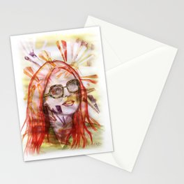 Julianne Moore Sunflower Stationery Cards