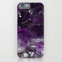 Amethyst jumble iPhone Case