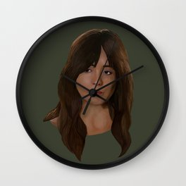 Skye / Daisy Johnson / Quake Wall Clock