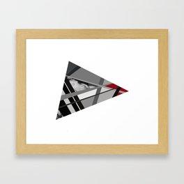 Venus of Triangle Framed Art Print