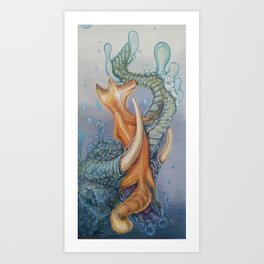 Truncated Siren Art Print